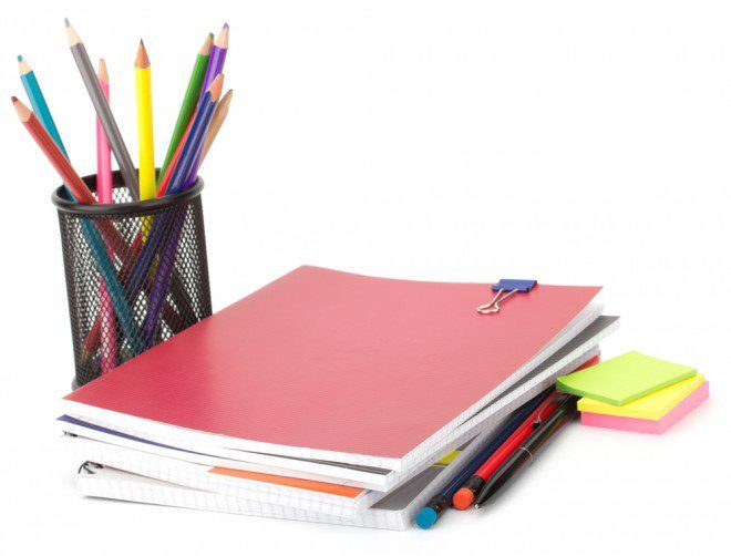 Photo d'illustration. Des fournitures scolaires