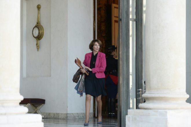 La ministre de la Santé Marisol Touraine à l'Elysée à Paris, le 5 octobre 2016