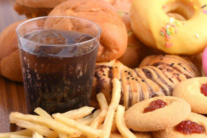 Un régime alimentaire riche  mais de mauvaise qualité