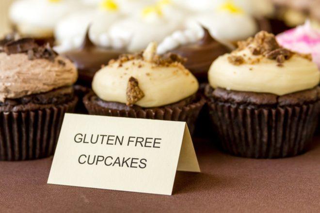 Cupcakes garantis sans gluten, image d'illustration