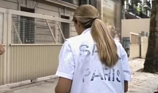Une employée du SAMU