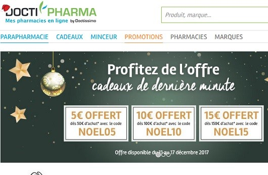 Le site Doctipharma.