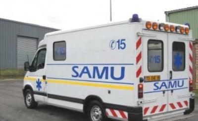 Un véhicule du SAMU.
