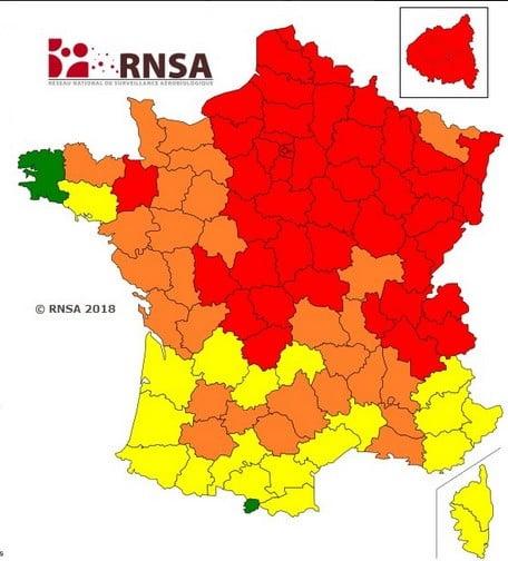 Une carte RNSA.