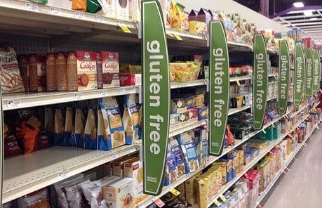 Un magasin sans gluten.