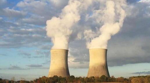 Une centrale nucléaire