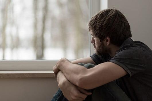 Une personne dépressive