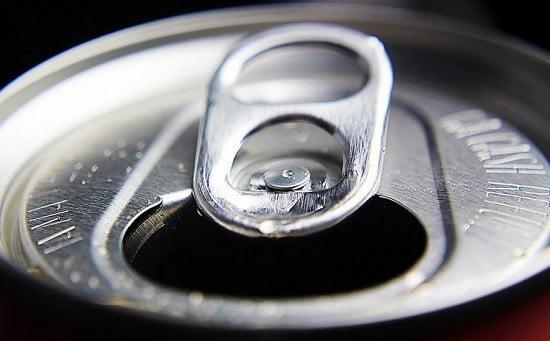 Une canette de sodas