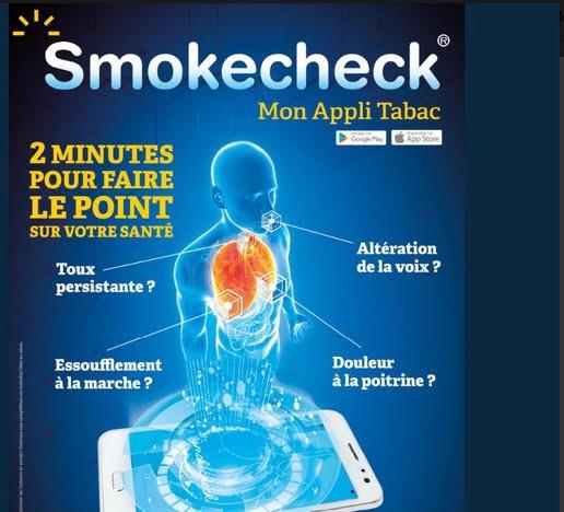 L'app Smokecheck