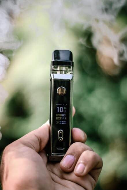 Une cigarette électronique