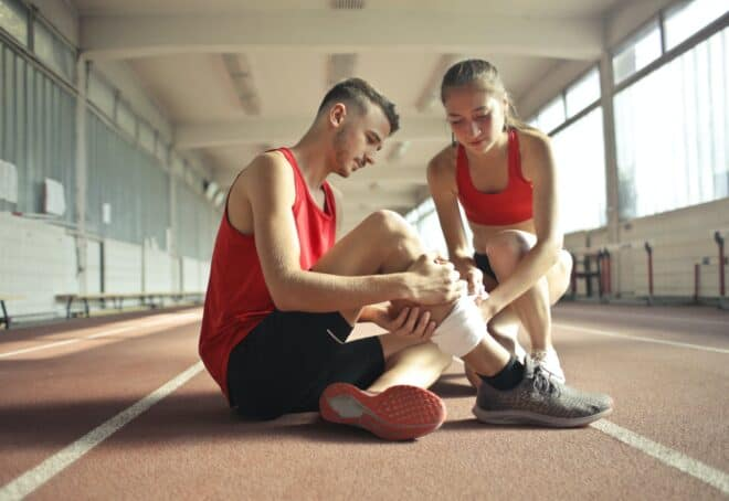 Douleurs musculaires à la jambe